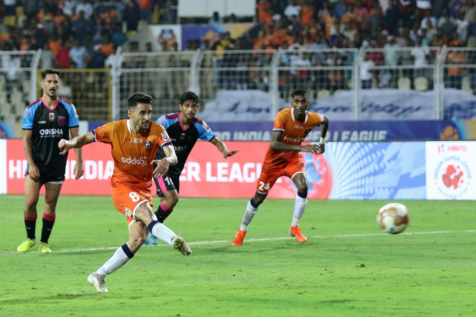 ISL 6: FC Goa defeated Odisha FC by 3-0 and reaches on top