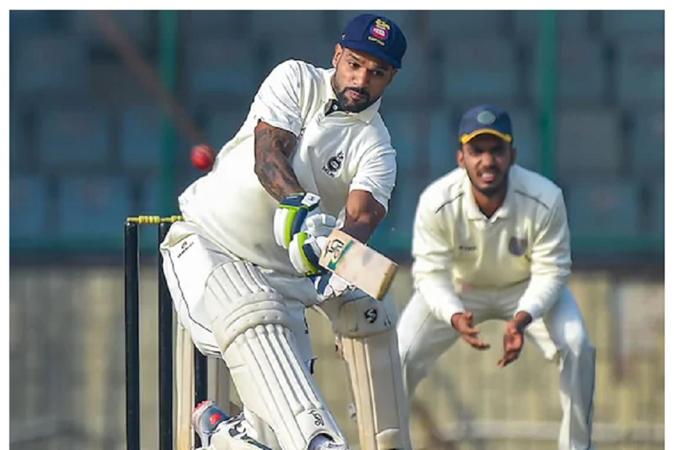 Ranji Trophy: Shikhar Dhawan made a great comeback with century agaisnt hyderabad