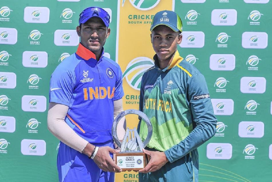 Divyaansh Saxena is hero in India U-19 win against south africa in series opener