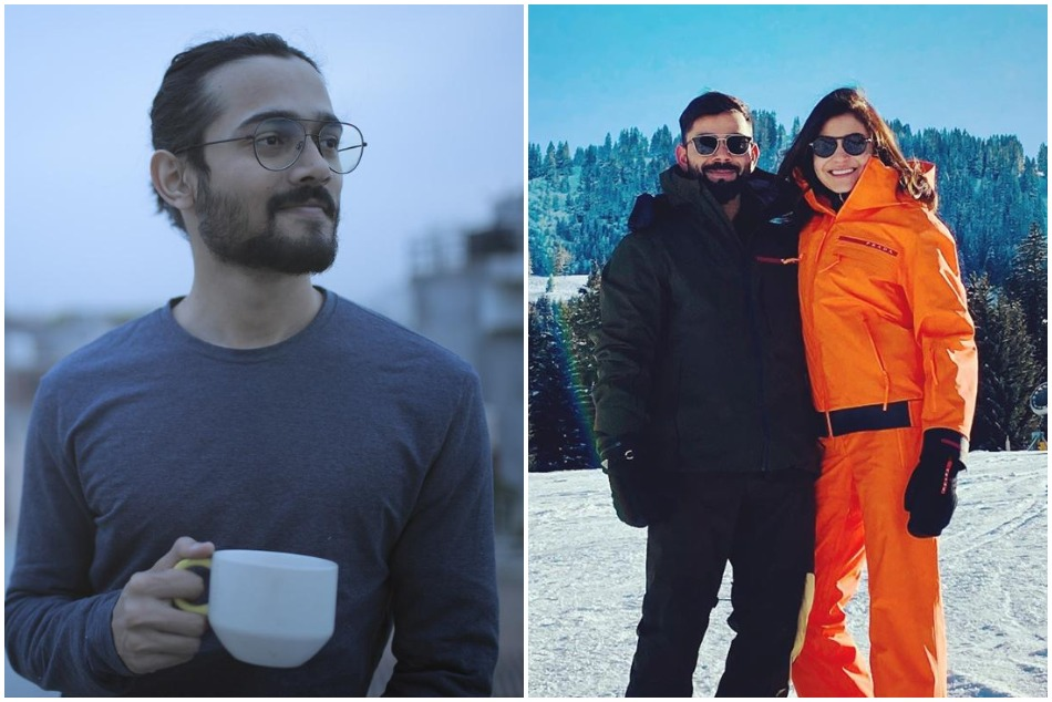 Virat-Anushka went to Switzerland on New year vacations, Bhuvan Bam trolled them in his cool style