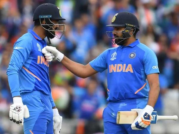 रोहित शर्मा और केएल राहुल-