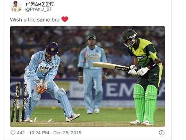 भारतीय फैंस ने दिया उसी अंदाज में जवाब
