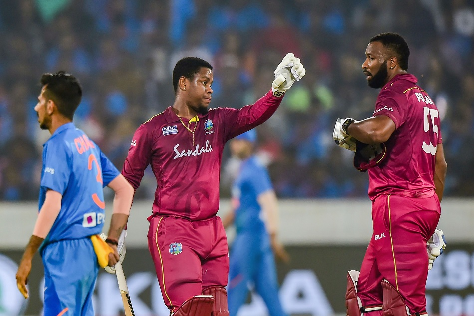 IND vs WI: West Indies set three big t-20i record in batting against india