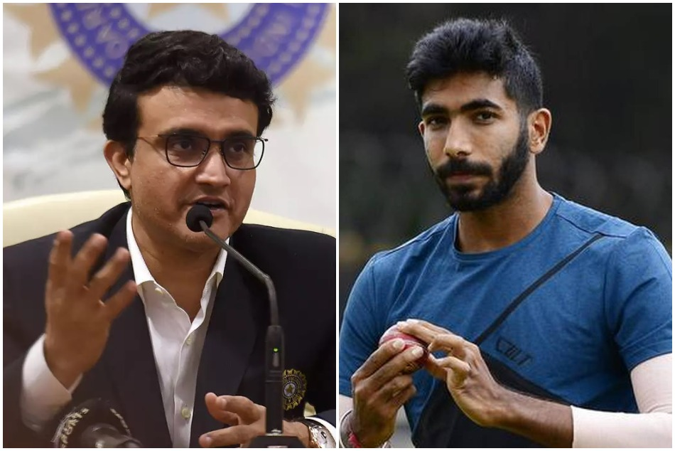 Jasprit Bumrah did not play in Ranji match as Sourav Ganguly let him take an extended break