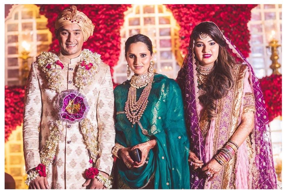 Azharuddins son Asaduddin and Azharuddins son Asaduddin got married on December 11 in Hyderabad
