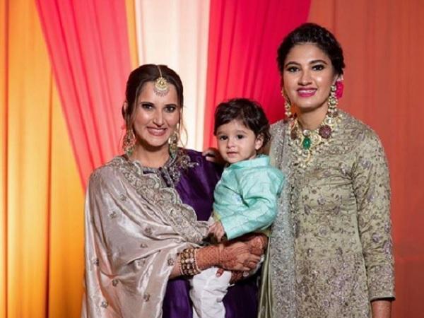 सानिया की बहन की भव्य शादी