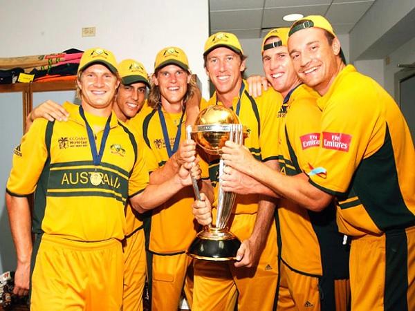 पिछले दशक की ऑस्ट्रेलियाई टीम का उदाहरण-