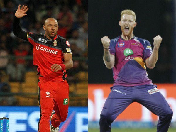 टाइरल मिल्स और बेन स्टोक्स, आईपीएल 2017