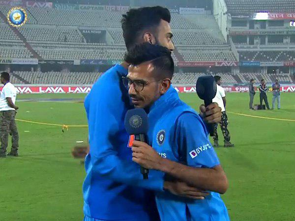राहुल ने उड़ाया चहल का मजाक