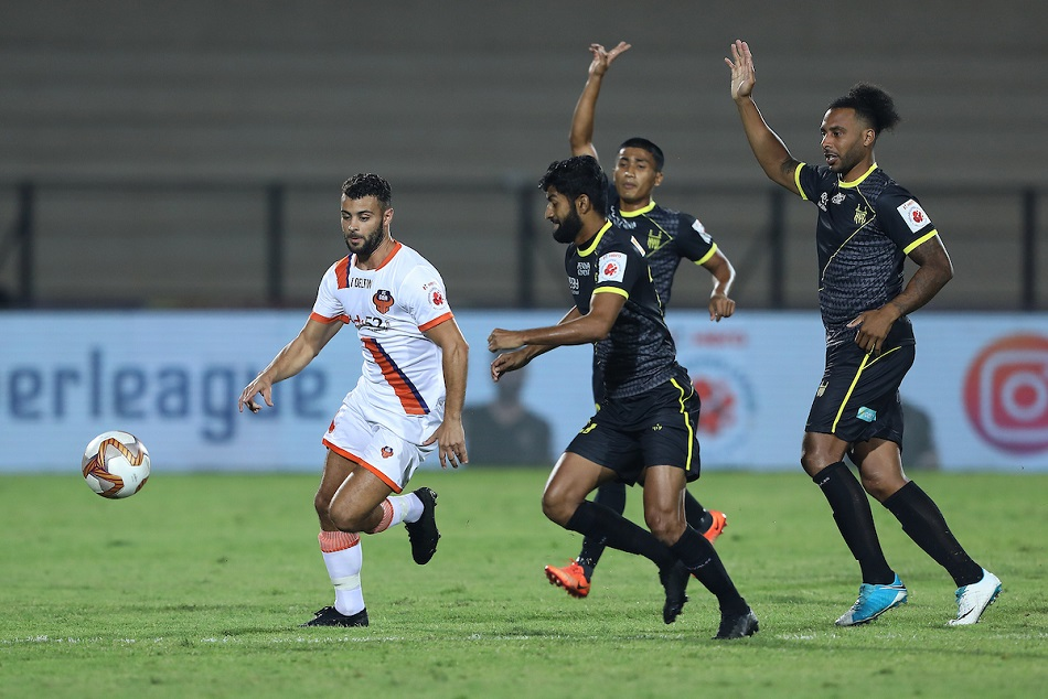 Indian Super League 2019 Goa Fc Beat Hyderabad Fc By 1 0