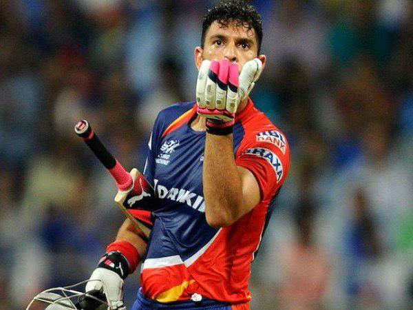 युवराज सिंह, आईपीएल 2015, 2016