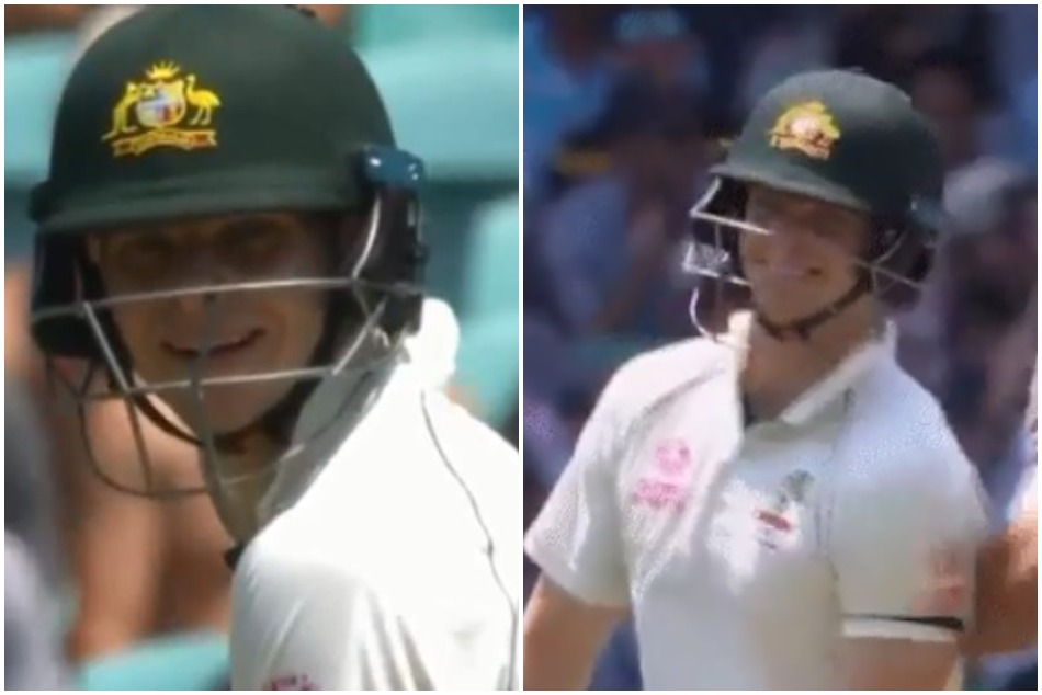 Steve Smith receive hilarious recation after getting off the mark in 39 deliveries, Watch