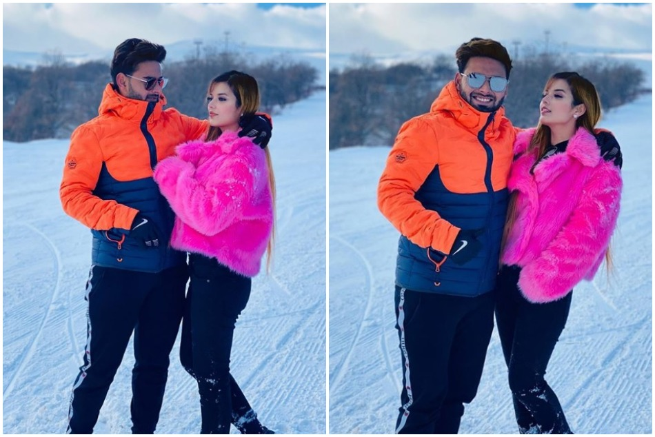 Risabh Pant enjoying new year vacation with girlfriend Isha Negi, see pictures