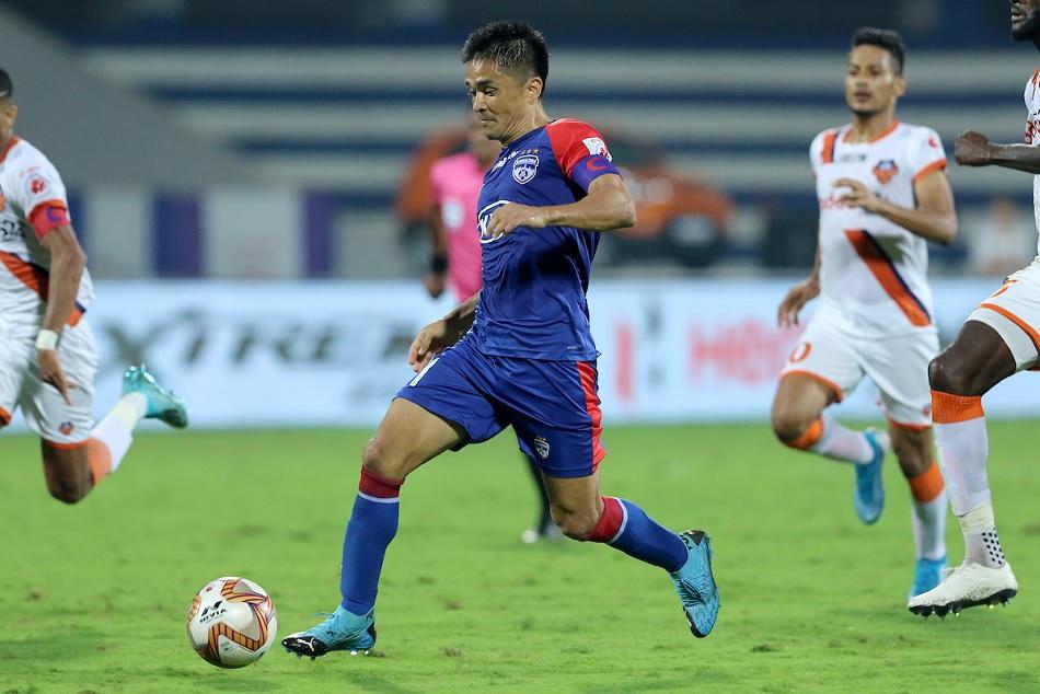 ISL 6: Sunil Chhetri's brace helped Bengaluru FC defeat FC Goa by 2-1