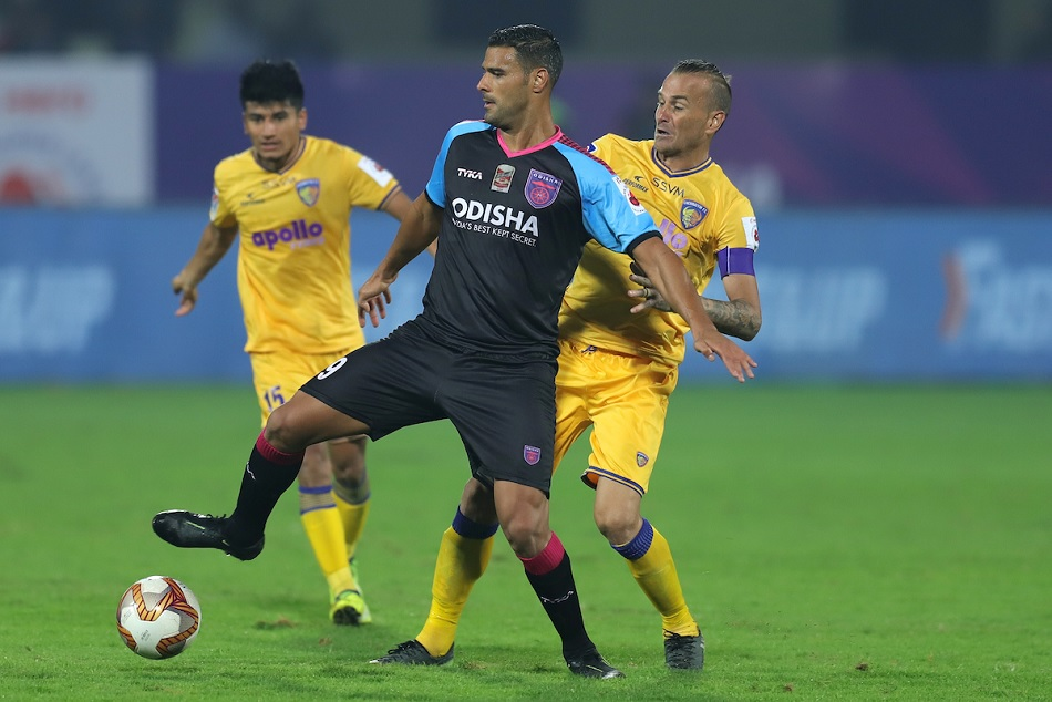 Odisha FC registered an important win by beating Chennaiyin FC to 2-0