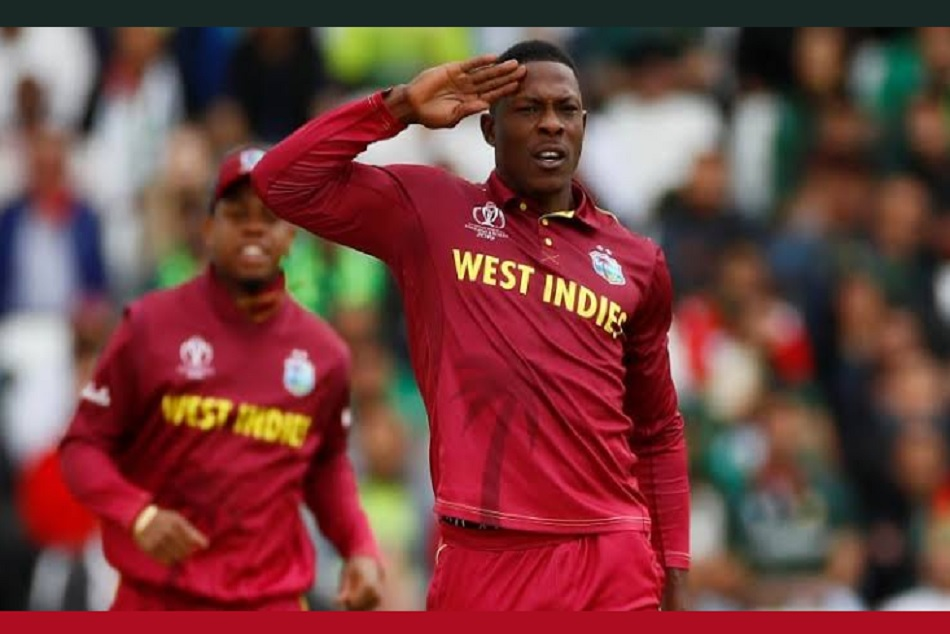 Sheldon Cottrell creates history at batting on number 11 in thrilling victory against Ireland