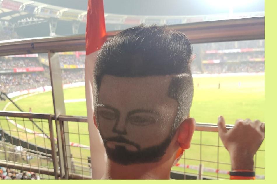 IND vs AUS: Heart to Head- Virat Kohlis fan hairstyle goes viral during series opener match