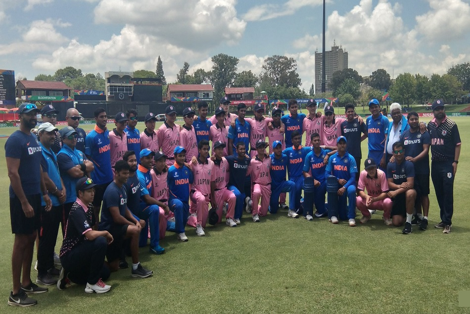 U19 CWC: After a huge win, Team Indias gesture for Japanese team won heart