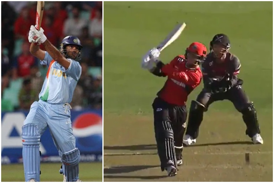 Leo Carter emulates Yuvraj singh in New Zealand T-20 leage, hit 6 sixes in an over, Watch