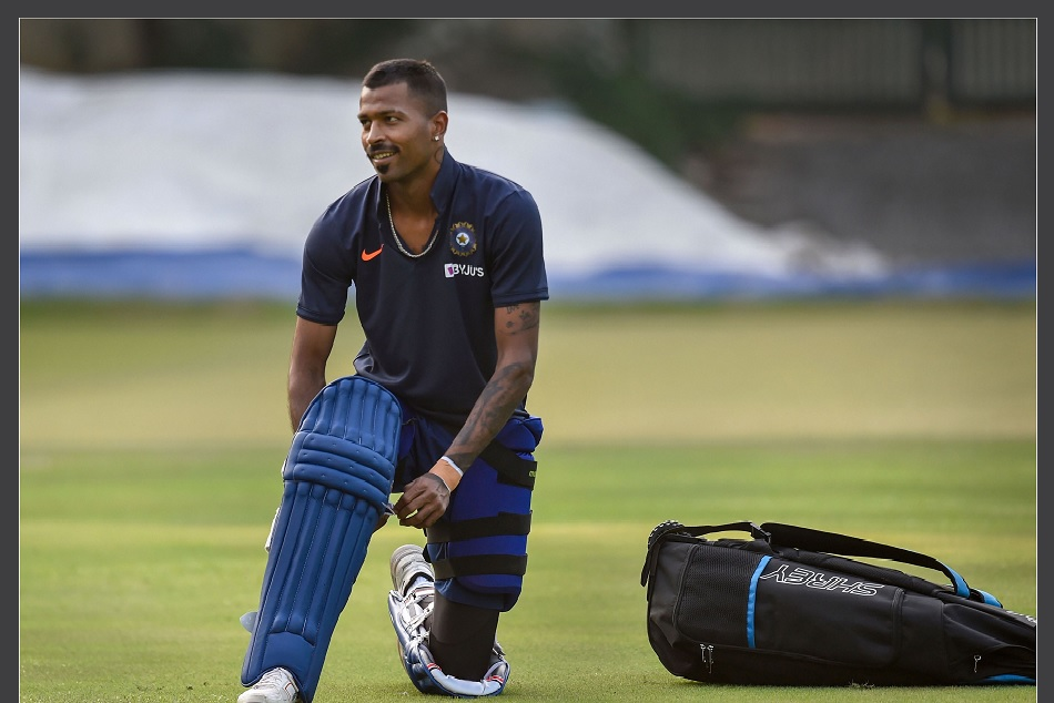 Hardik Pandya won hearts with a gesture towards an guard injured by kohlis shot
