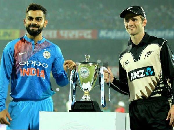 न्यूजीलैंड बनाम भारत T20I शेड्यूल