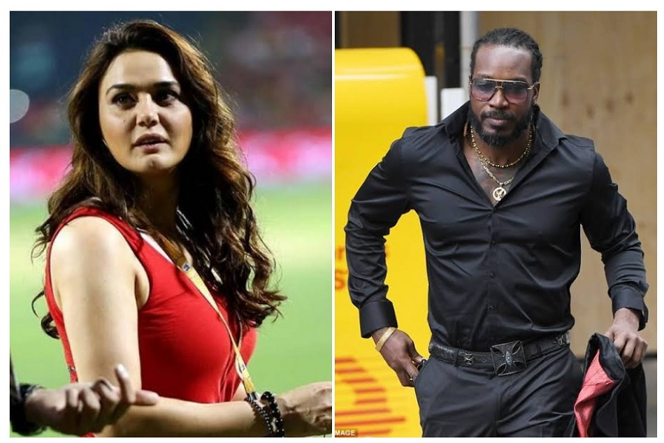 Preity Zinta shares throwback picture of Chris Gayle while later gives reply as well