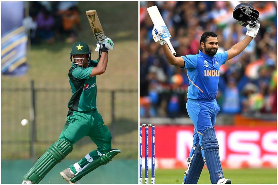 This Pakistani U-19 batsman want to hit double century in ODI, says Rohit Sharma is my role model