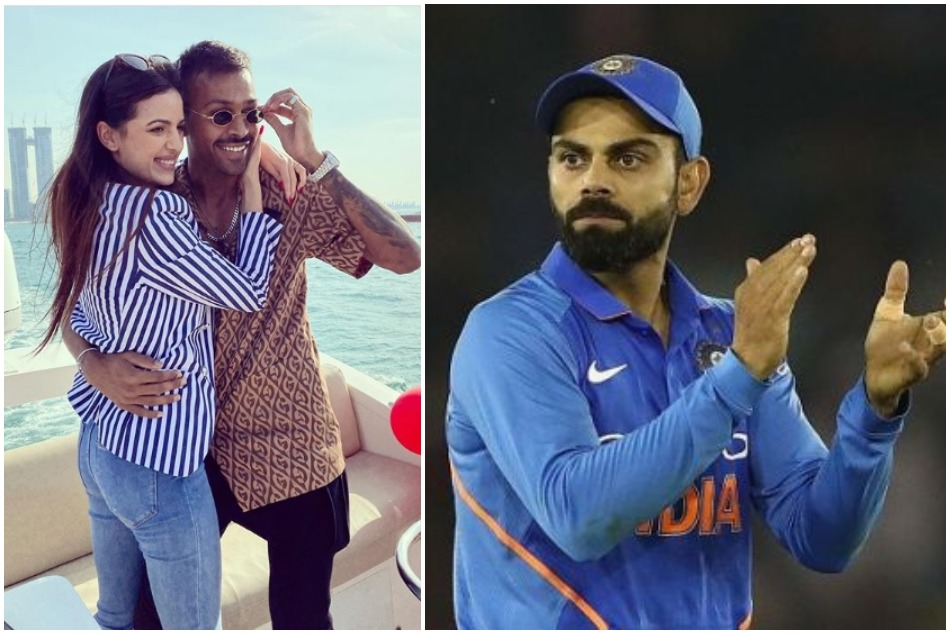 Virat Kohli is also suprised by Hardik pandya engagement and wishes him