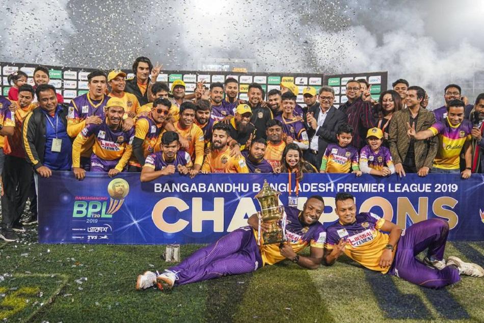 आंद्रे रसेल ने फिर मचाया तहलका, राजशाही राॅयल्स ने जीता BPL का खिताब