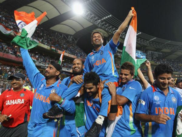 वानखेड़े के मैदान पर भारत 27 साल बाद बना था विश्व चैम्पियन