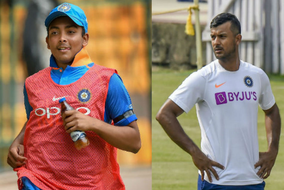 IND vs NZ 1st ODI: After 3 years Mayank Agarwal-Prithvi Shaw pair repeat unique record
