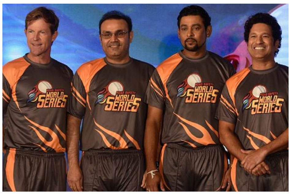 Road Safety World Series 2020: Five nation legends will play in this T20 tournament