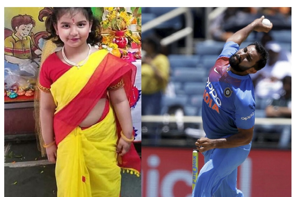 After posting Hindu photo of daughter, religious fundamentalists criticize Mohammed Shami