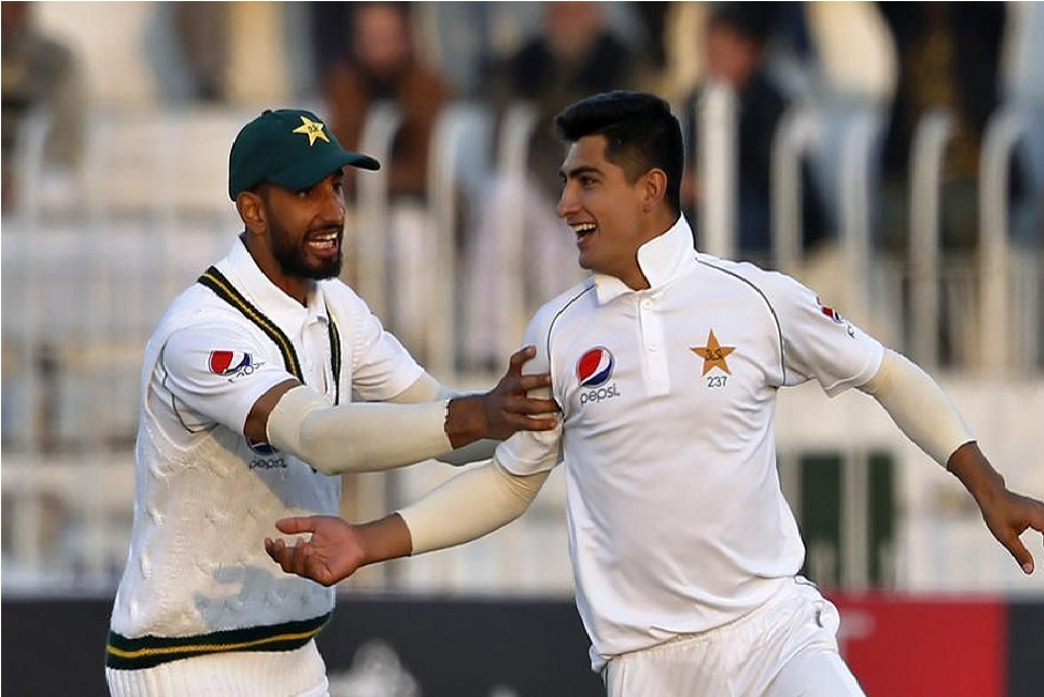 Naseem Shah becomes youngest bowler to take hat-trick in test history, broke 17 year old record