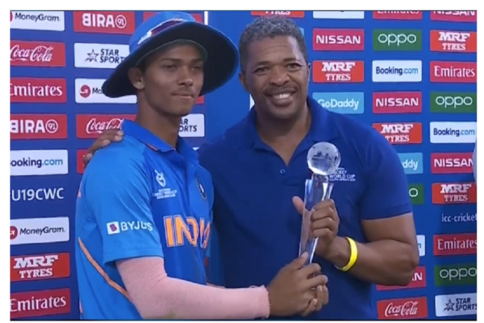 U19 CWC IND vs BAN: What Yashasvi Jaiswal says after getting Man of the tournament award