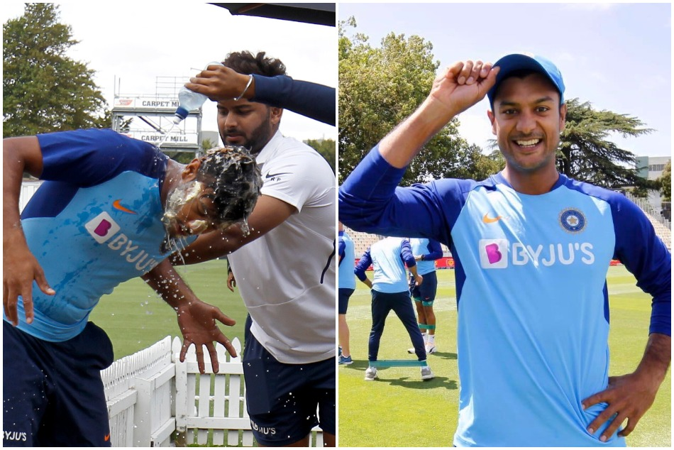 IND vs NZ: Maynak Agarwal celebrates his Birthday with his team mates