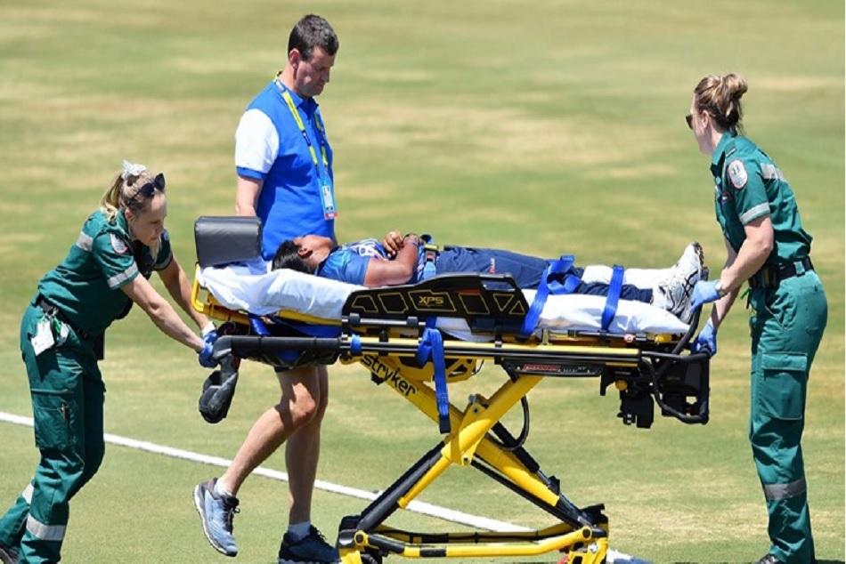 Women T20 World Cup: Achini Kulasuriya suffer serious blow on her head in warm up match