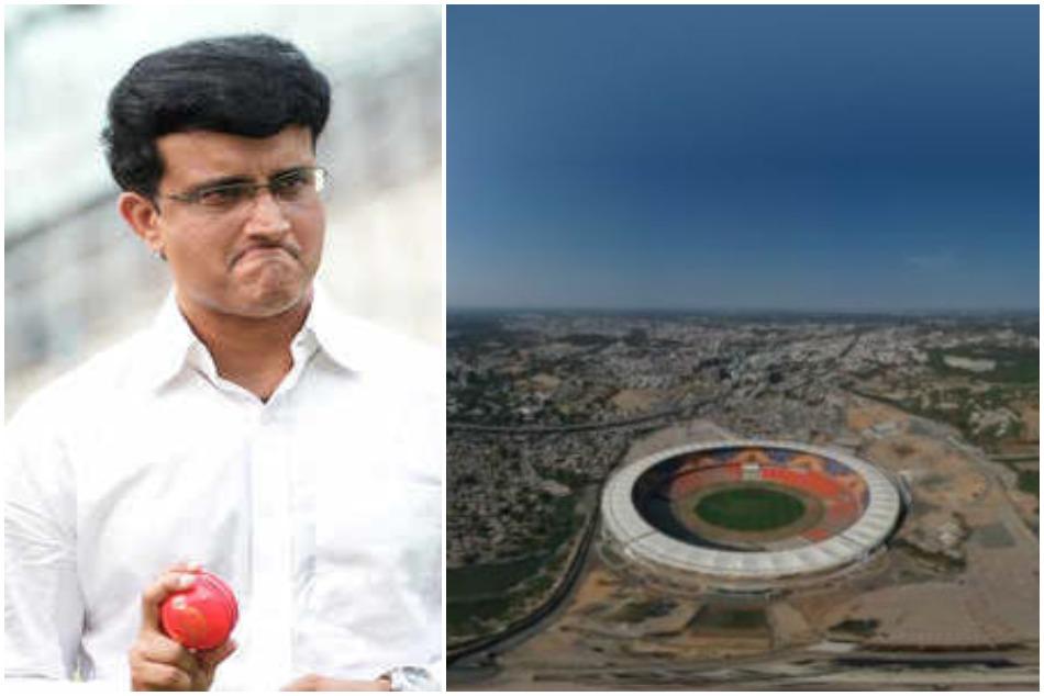 दुनिया के सबसे बड़े क्रिकेट स्टेडियम पर बीसीसीआई अध्यक्ष सौरव गांगुली ने दी ये प्रतिक्रिया