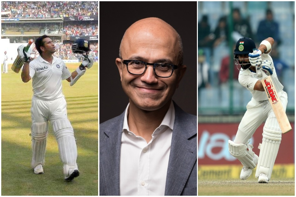 Microsoft CEO Satya Nadella says it is like picking religions on who is best between Sachin and Virat