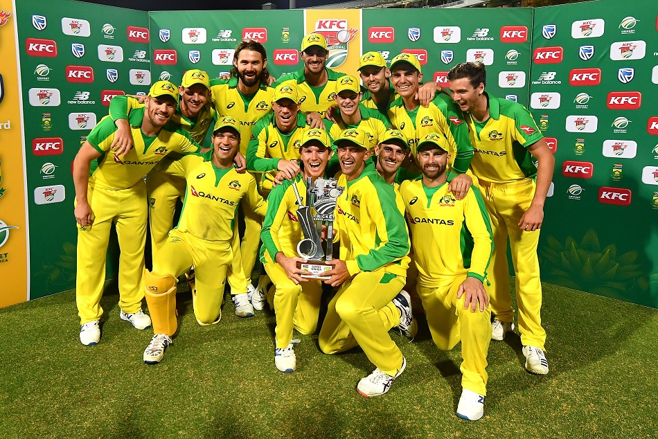 Australia crushes South Africa in 3rd T20I and won the series with 2-1