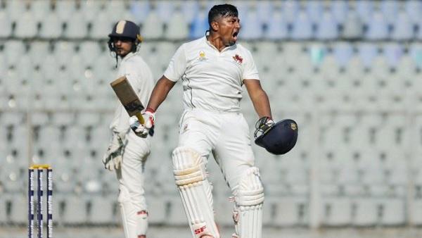 सरफराज तिहरा शतक जड़ने वाले सांतवें मुंबई के बल्लेबाज बने थे