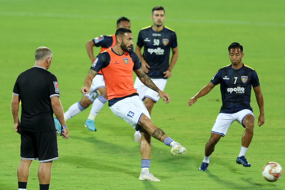 ISL-6 : यूनाइटेड को हराकर तीसरे स्थान के साथ लीग चरण का समापन करना चाहेगा चेन्नइयन