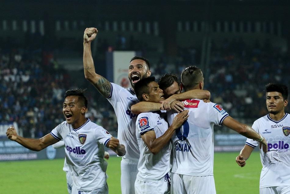 ISL-6 : चेन्नइयन ने मुम्बई को दिया झटका, जीत दर्ज कर बनाई प्लेऑफ में जगह