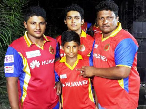 क्लब क्रिकेट खेलते हैं मोइन नौशाद खान