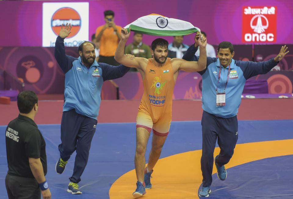 Wrestling: सुनील कुमार ने खत्म किया 27 सालों का सूखा, एशियन चैम्पियनशिप में जीता गोल्ड