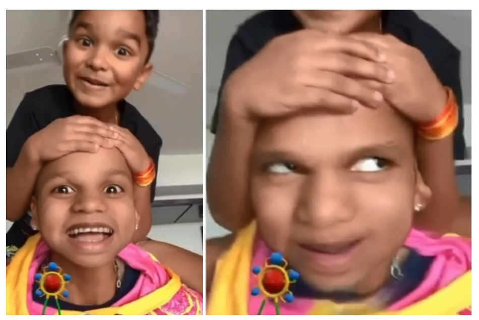 Coronavirus: Shikhar Dhawan uses baby filter with son Zoravar to give message to his fans- VIDEO