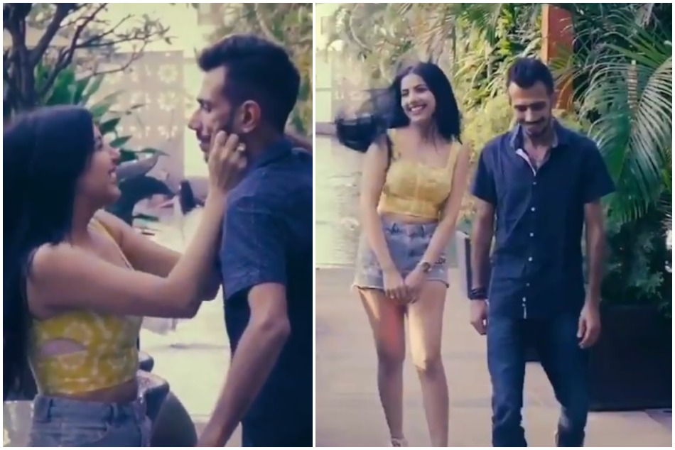 Yuzvendra Chahal shares romantic Video with mystery girl, Watch