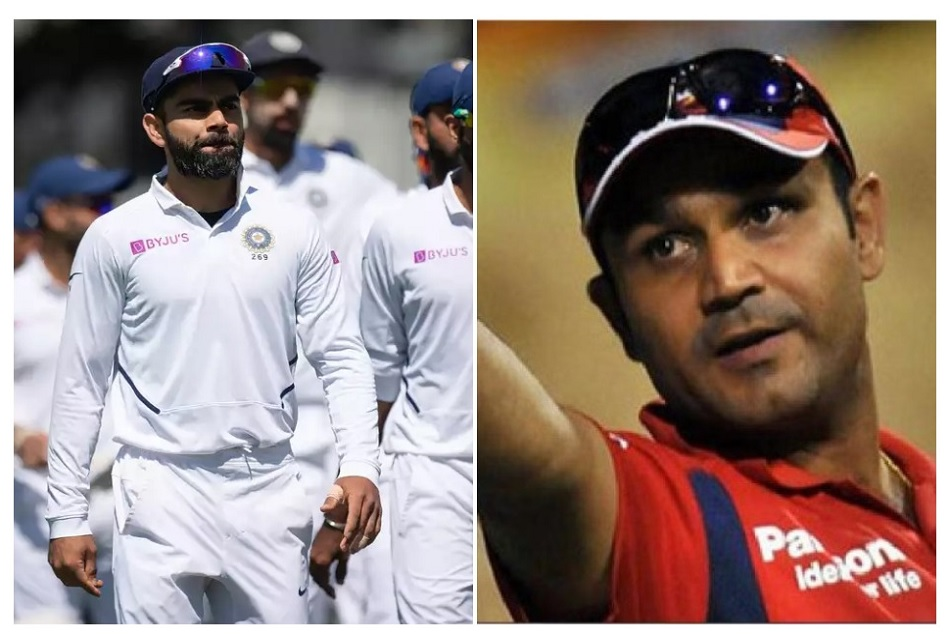 Virender Sehwag is not agree with Kapil Dev on reason behind Virat Kohli struggle with batting