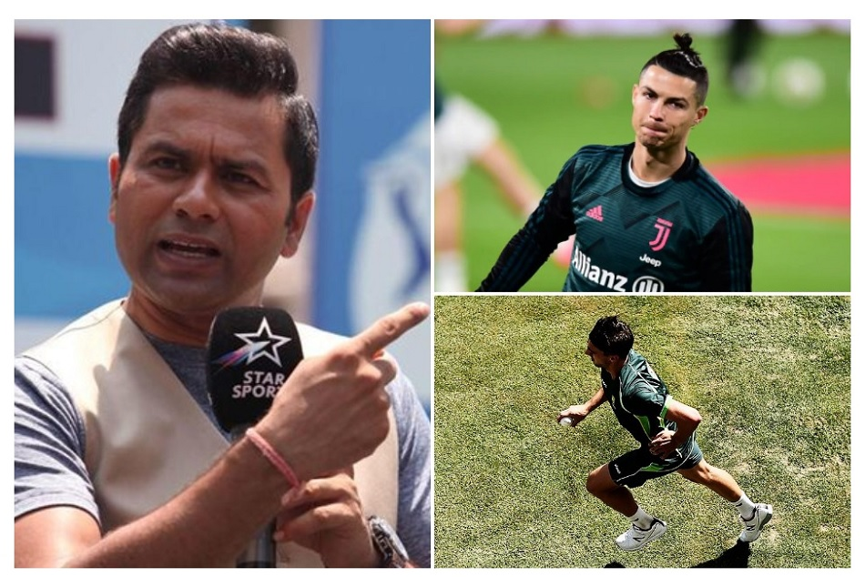 Akash Chopra compares Keepie-uppies skill of bowler with Cristiano Ronaldo, Watch Video