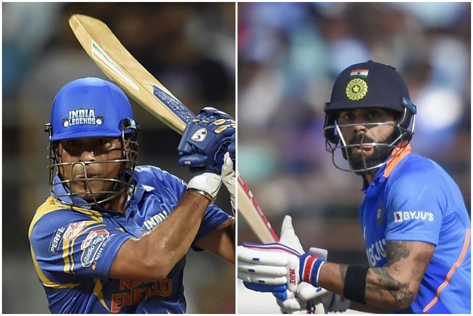 Who is best between Sachin Tendulkar and Virat Kohli, Wasim Jaffer answered with hilarious meme